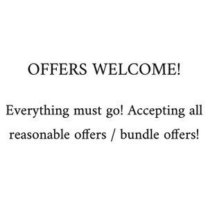 Other - send me an offer!! 🌞